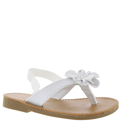 Baby Deer Thong Sandal w/Flower (Girls' Infant-Toddler)