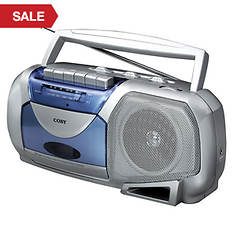 Coby Cassette Player with AM/FM Radio