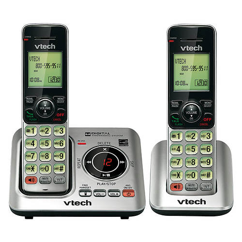 Vtech Cordless Answering System Base with 1 Handset