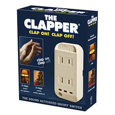 The Clapper Sound-Activated Switch