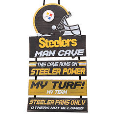 NFL Man Cave Sign By Team Beans