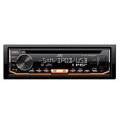 JVC Mobile CD Receiver with USB/Aux