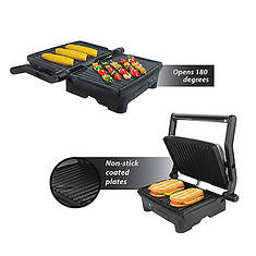 Panini Press and Indoor Grill