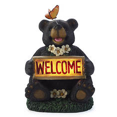 Welcome Bear with Butterfly