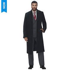 Men's Wool-Blend Overcoat