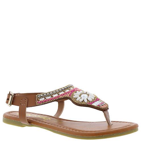 KensieGirl Beaded Flower Thong (Girls' Toddler-Youth)