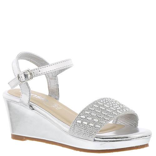 KensieGirl Wedge Metallic Sandal (Girls' Toddler-Youth)