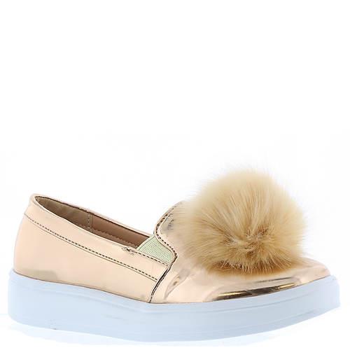 KensieGirl Pom Pom Sneaker (Girls' Toddler-Youth)