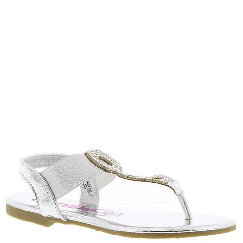 KensieGirl Rhinestone Thong Sandal KG74408M (Girls' Toddler-Youth)