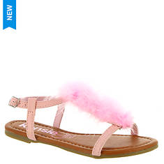 KensieGirl Maribou Sandal (Girls' Toddler-Youth)
