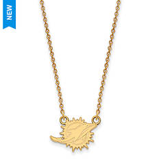 Gold-Plated NFL Pendant Necklace