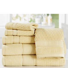 Royale Turkish Cotton 6-Piece Towel Set