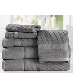 Royale Turkish Cotton 6-Piece Towel Set
