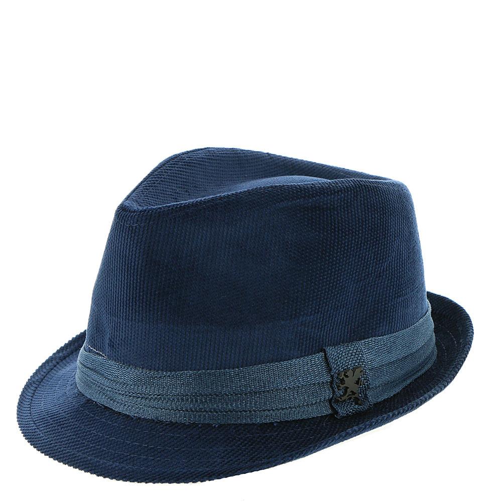 1960s – 70s Style Men's Hats Stacy Adams Corduroy Fedora Mens Blue Hats L $29.95 AT vintagedancer.com