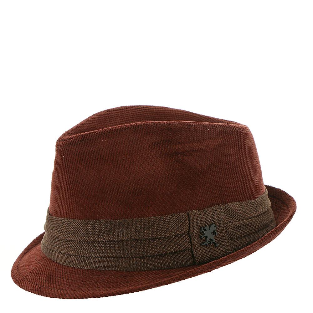 1960s – 70s Style Men's Hats Stacy Adams Corduroy Fedora Mens Brown Hats M $29.95 AT vintagedancer.com