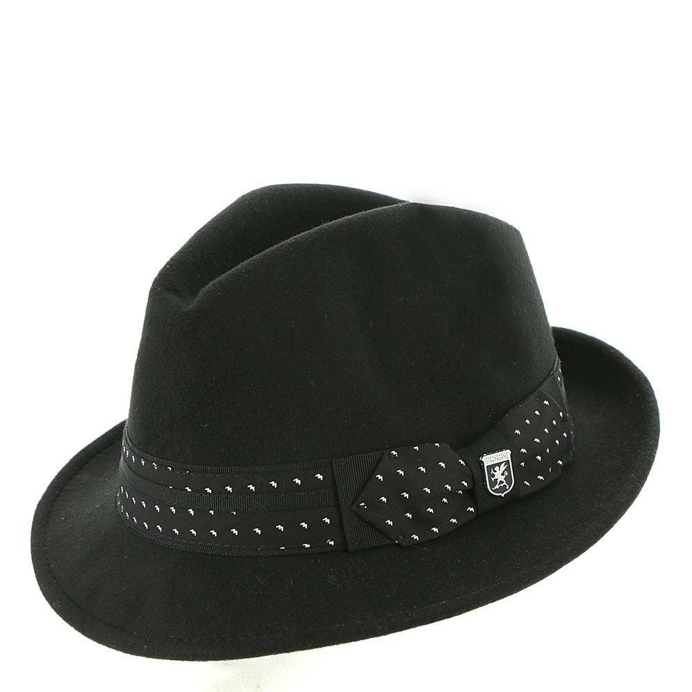 1960s – 70s Style Men's Hats UltraFelt Pinch Front Fedora Black Hats L $39.95 AT vintagedancer.com