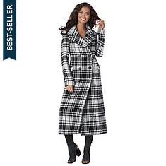 Patterned Long Coat