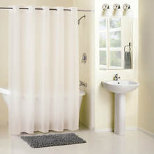 Surefit PEVA Hookless Shower Curtain/Liner