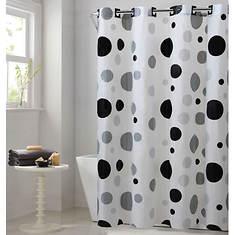 Surefit Retro Dots Hookless Shower Curtain