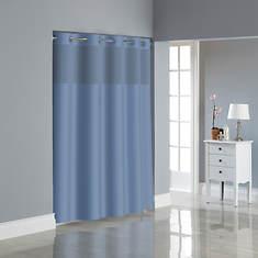 Surefit Dobby Textured Hookless Shower Curtain