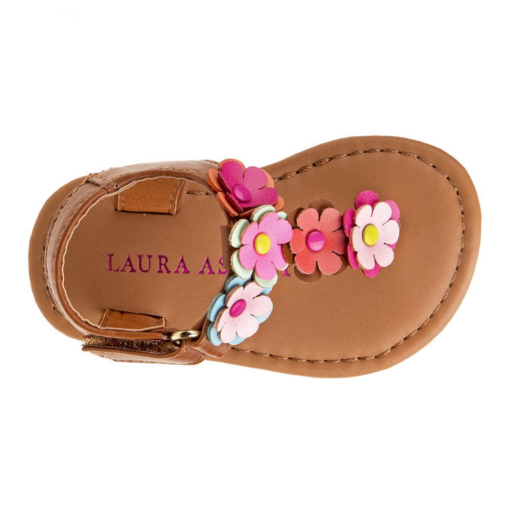 e3cecaf8e6f41 Laura Ashley Thong Sandal LA71162 Girls  Toddler-Youth Sandal