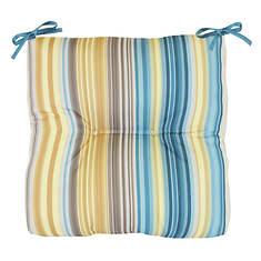 Mosaic Stripe Arm Chair Patio Cushion