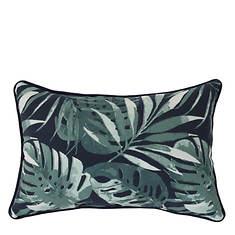 Palm Decorative 'Lumbar' Pillow