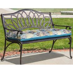 Mosaic Bench Seat Patio Cushion
