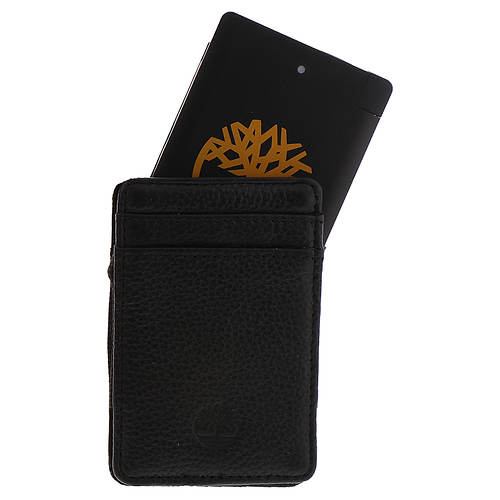 Timberland Men's Wallet And Charger Set