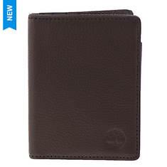 Timberland Men's Front Pocket Wallet & Charger Set