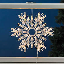 Christmas 2 Sided Window Decoration