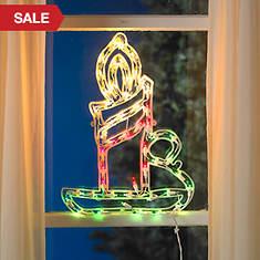 Christmas 2 Sided Window Decoration
