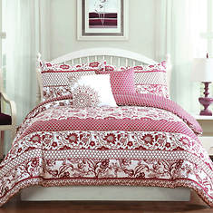 Paz 5-Pc. Reversible Comforter Set