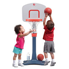 Step2 Shootin' Hoops Jr. Adjustable Basketball Set