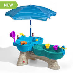 Step2 Spill & Splash Table with Umbrella