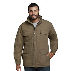Men's Coated Canvas Parka