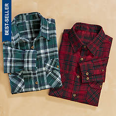 Men's 2-Pack Flannel Shirts