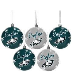 5-Piece NFL Ornament Set By Team Beans