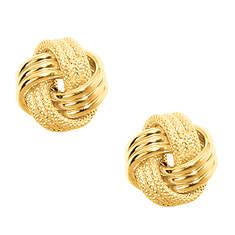 10K Love Knot Earrings (Women's)