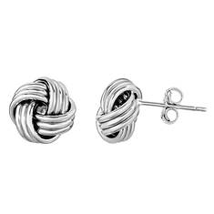 10K Love Knot Earring (Women's)