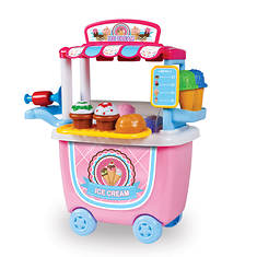 14-Piece Ice Cream Cart Playset