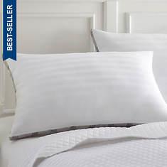 Dobby Stipe Down Alternative Pillows- 2 Pack