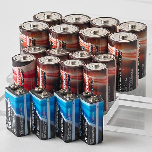 Vivitar® 20-C/D/9V Battery Pack
