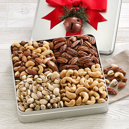 Nut Holiday Gift Tin