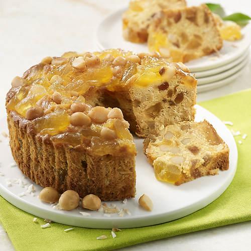 Pineapple Macadamia Cake