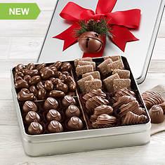 Chocolate Holiday Gift Tin