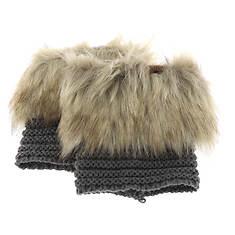 BEARPAW Women's Fur Trim Boot Topper
