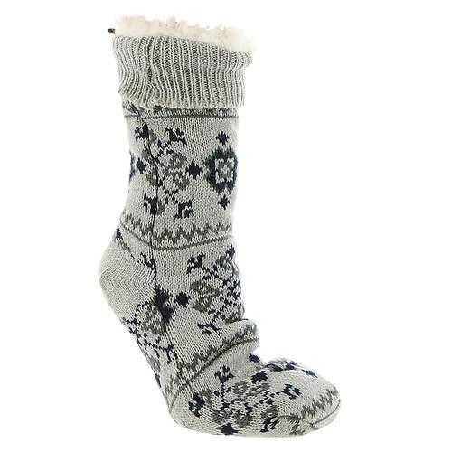 BEARPAW Women's Nordic Sherpa Slipper Sock