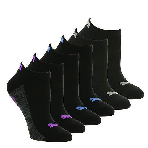 PUMA Women's P112200 Low Cut 6-Pack Socks