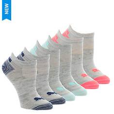 PUMA Women's P112234 No Show 6-Pack Socks